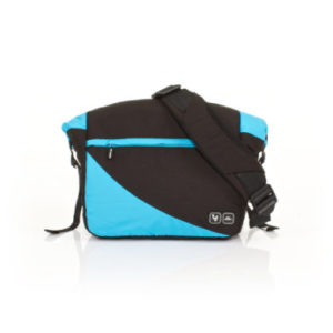 ABC Design Wickeltasche Courier rio - blau