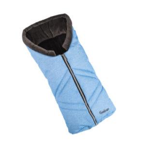 Emmaljunga Fußsack für Wanne Competition Blue - blau