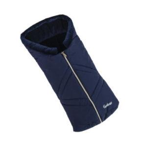 Emmaljunga Fußsack für Wanne Navy - blau