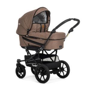Emmaljunga Kinderwagen Edge Duo S Competiton Eco Brown - braun