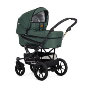 Emmaljunga Kinderwagen Edge Duo S Competiton Eco Green - grün