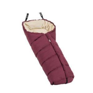 Emmaljunga Polar Fußsack Eco Red - rot