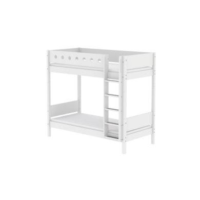 Flexa Maxi Etagenbett White 90 X 200 Cm Weiß Weiß Shopmom