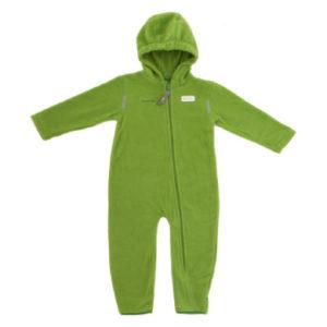 Hoppediz Fleece-Overall grün - Unisex