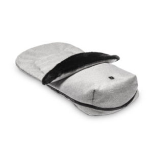 MOON Fußsack stone/panama - grau