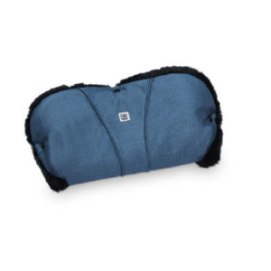 MOON Handmuff blue/structure - blau