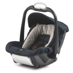 Mutsy EVO Babyschale Safe2Go Industrial Blue - blau
