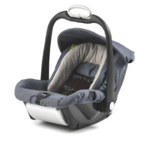 Mutsy EVO Babyschale Safe2Go Industrial Grey - grau