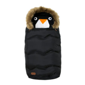 VOKSI Fußsack Urban Fur Nightfall Black - schwarz