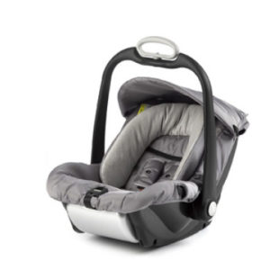 mutsy EVO Babyschale Safe2Go Nomad Touch Taupe - grau