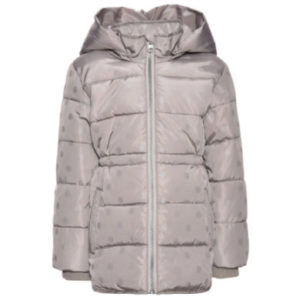 name it Girls Jacke Martha mourning dove - grau - Gr.Babymode (6 - 24 Monate) - Mädchen
