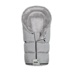 odenwälder Fußsack Lo-Go New Woven soft grey - grau