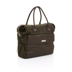 ABC Design Wickeltasche Jetset leaf - braun