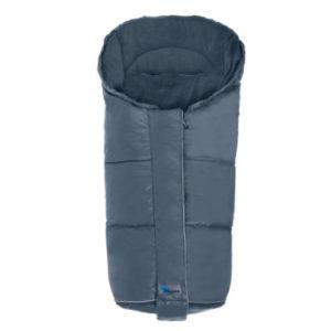 Altabebe Daunen Fußsack Alaska für Kinderwagen grau blau