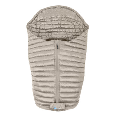 Altabebe Fußsack für Babyschale Ultra Light Down beige