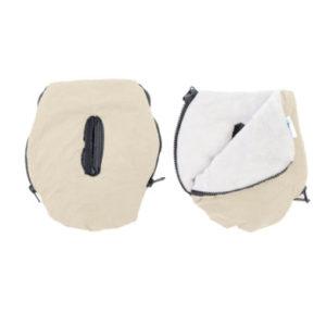 Altabebe Handwärmer Alpin für Kinderwagen beige-whitewash