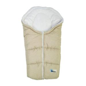Altabebe Winterfußsack Alpin für Babyschale beige-whitewash