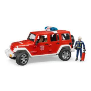 bruder ® Jeep® Wrangler Unlimited Rubicon Feuerwehr-Einsatzfahrzeug mit Figur 02528