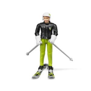 bruder ® Zubehör - Skifahrer mit Zubehör 60040