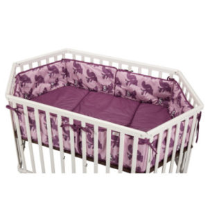 tiSsi ® Laufgittereinlage purple animal - lila