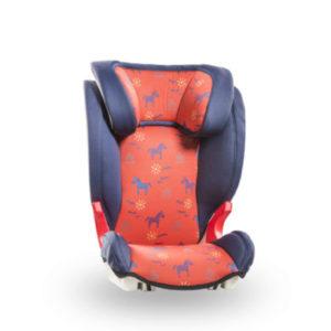 Baier Kindersitz Adebar Family blau/rot