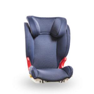 Baier Kindersitz Adefix Punkt. blau