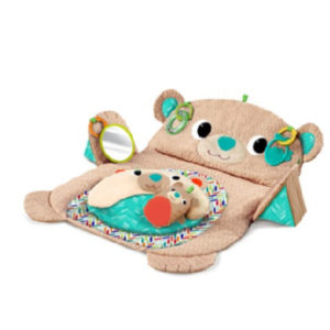 bright starts ™ - Pop & Play Tummy Time Mat - Bear - braun
