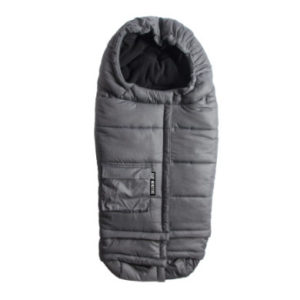 Baby Monsters Fußsack Ice Size Grey - grau