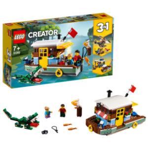LEGO® Creator - Hausboot 31093 - bunt