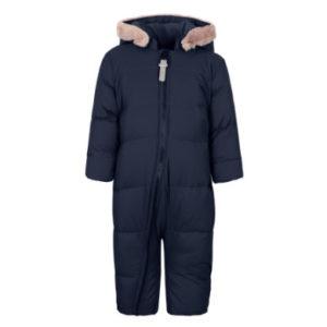 TICKET TO HEAVEN Schneeanzug Daune Emilia mit abnehmbarer Kapuze, blau - Gr.86 - Unisex