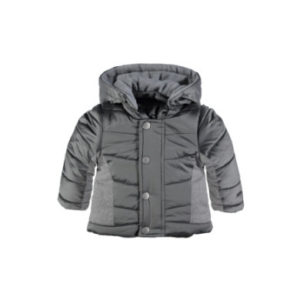 bellybutton Baby Winterjacke mit Kapuze - grau - Gr.68 - Unisex