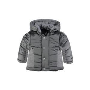bellybutton Baby Winterjacke mit Kapuze - grau - Gr.80 - Unisex