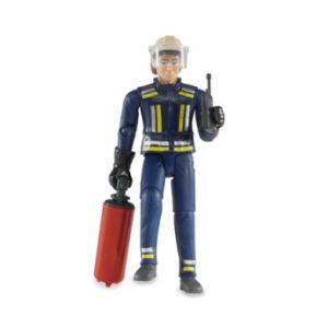 bruder ® Zubehör - Feuerwehrmann mit Zubehör 60100