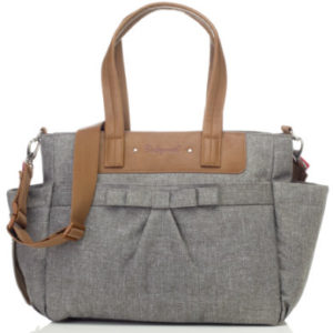 Babymel Wickeltasche Cara Bloom Grey - grau
