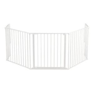 Baby Dan Flex XL Schutzgitter inklusive Verlängerung 72 cm weiß
