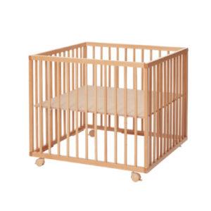 Baby Dan Laufgitter Comfort Medium, Buche - natur