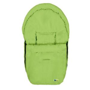 Altabebe Sommerfußsack Mikrofiber für Babyschale apfelgrün