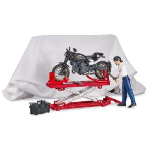 bruder ® bworld Motorradwerkstatt 62101 - bunt