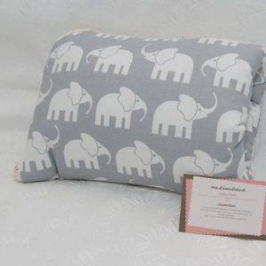 2 in 1 Wickeltasche und Wickelunterlage Elefanten