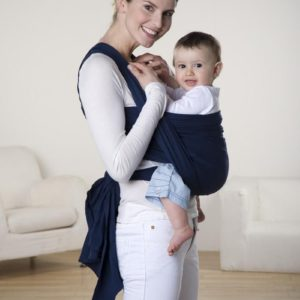 Baby-Tragetuch - Carry Sling navy 450 cm