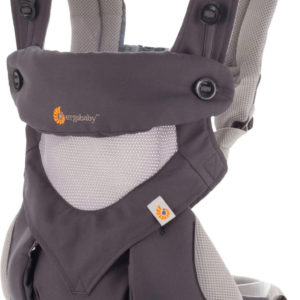 Ergobaby Babytrage 360 Cool Air Carbon - Grey