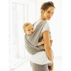 Vertbaudet Baumwoll-Tragetuch für Babys