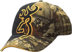 04210 Big Buckmark Hat, Mossy Oak Infinity & Black