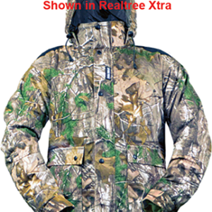 05315 Mens Frontier Waterproof Jacket, Realtree Edge Camo - 2XL