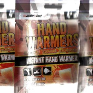 1 pakken handwarmers 4 stuks