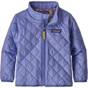 Baby Nano Puff Jacket (Light Violet Blue)-12M