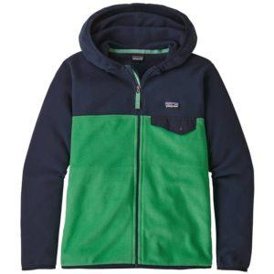Boys Micro D Snap-T Jacket (Nettle Green)-L