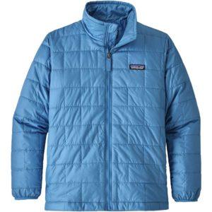 Boys Nano Puff Jacket (Port Blue)-L