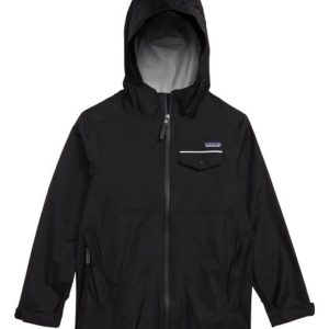 Boys Torrentshell Jacket (Black)-S