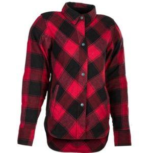 Highway 21 Women's Rogue Flannel Red Jacket
